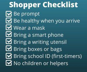 Teachers - shopper checklist graphic